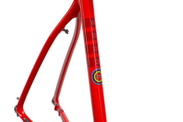 Bicicletta Ibis Hakka MX particolare del telaio