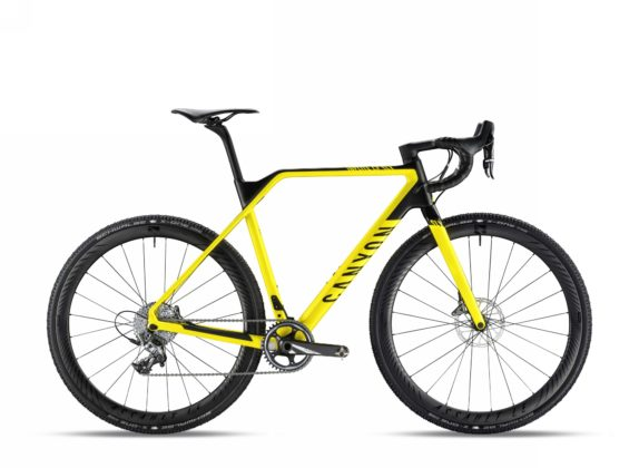 Bicicletta da ciclocross Canyon Inflite CF SLX 9.0 Pro Race, colore Lightning Yellow