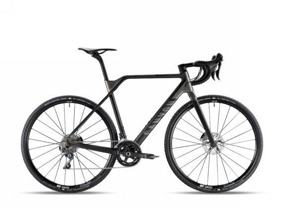 Bicicletta da ciclocross Canyon Inflite CF SLX 9.0, colore Stealth