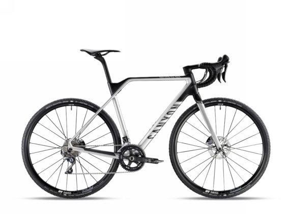 Bicicletta da ciclocross Canyon Inflite CF SLX 9.0, colore Aero Silver