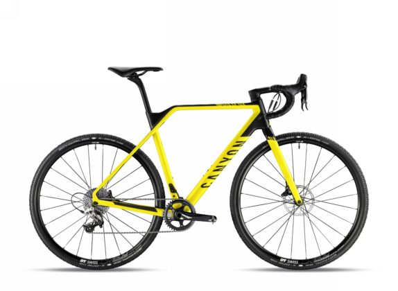 Bicicletta da ciclocross Canyon Inflite CF SLX 8.0 Pro Race, colore Lightning Yellow