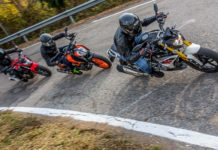 KTM 390 Duke vs Honda CB 500 F vs BMW G 310 R - sfida