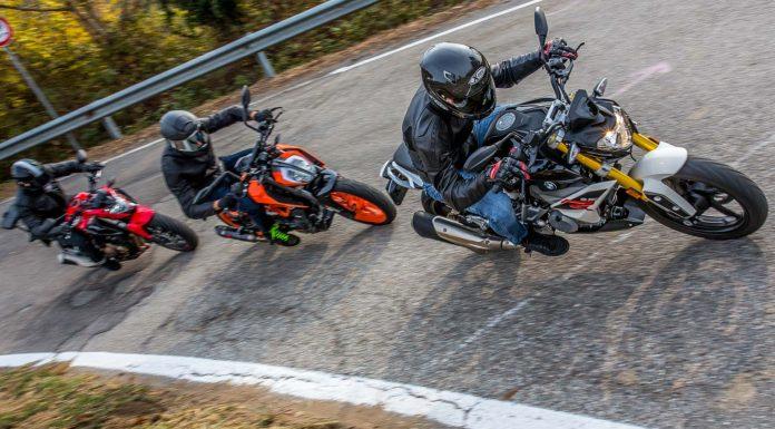 KTM 390 Duke vs Honda CB 500 F vs BMW G 310 R - sfida
