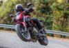 Honda CB 500 F movimento