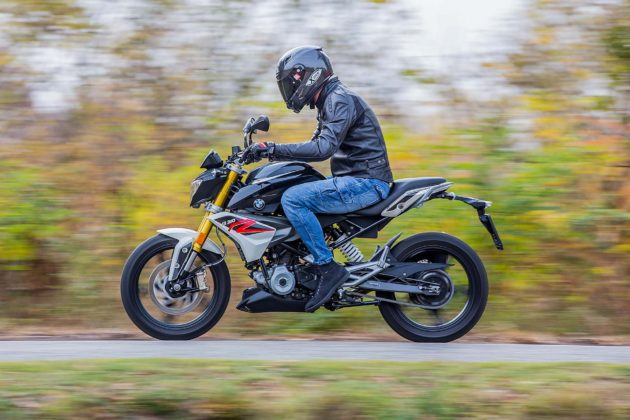 BMW G 310 R - laterale