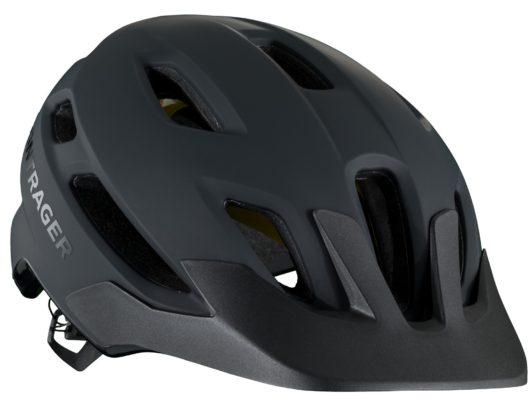 casco bici bontrager quantum mips, nero, still life anteriore