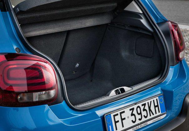 Citroen C3 1600 Hdi blu bagagliaio