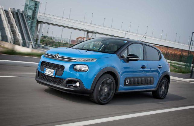 Citroen C3 1600 Hdi blu camera car 3/4