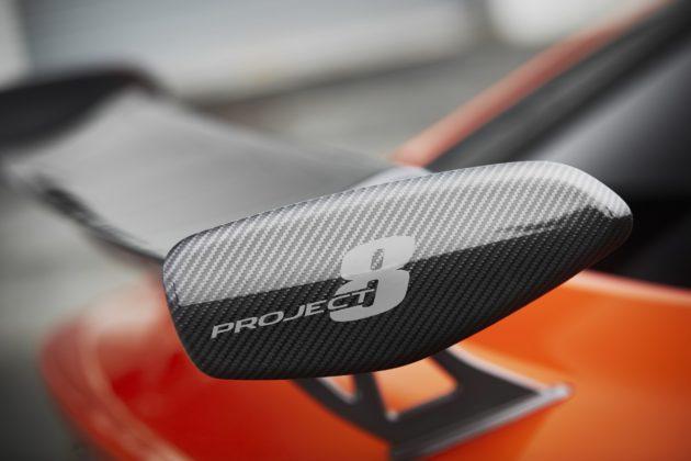 Jaguar XE SV Project 8 dettaglio