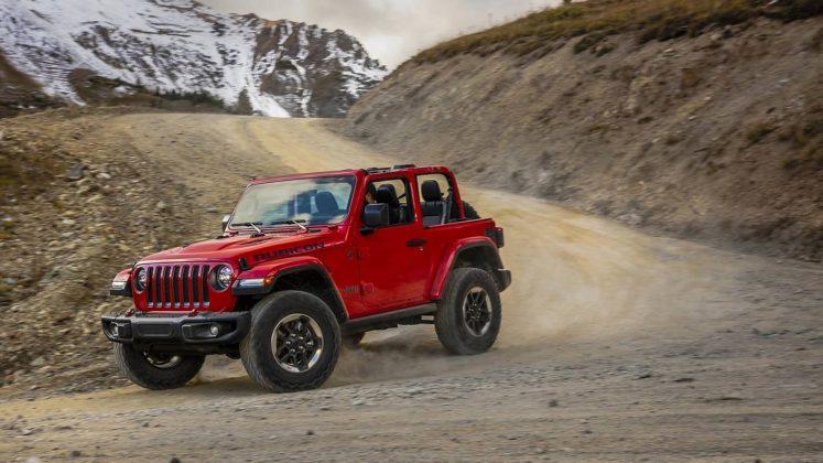Jeep Wrangler Rubicon 2018 dinamica