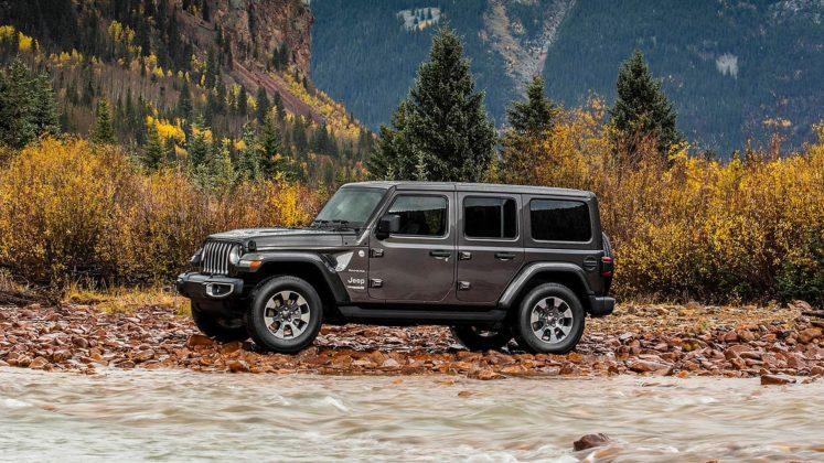 Jeep Wrangler Sahara 2018 statica