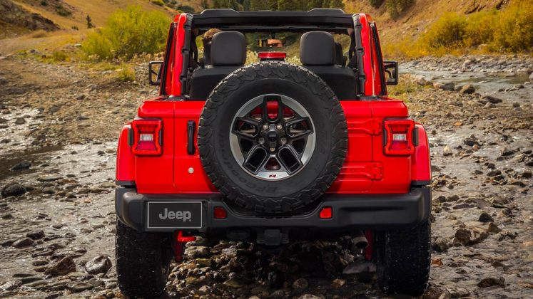 Jeep Wrangler Rubicon 2018 statica