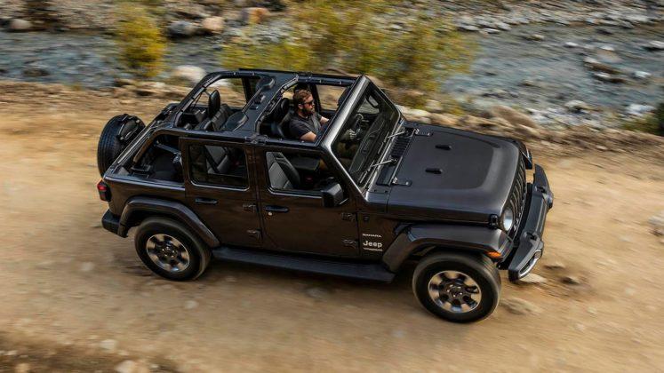 Jeep Wrangler Sahara 2018 dinamica