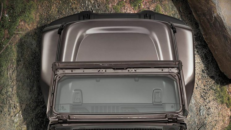 Jeep Wrangler Sahara 2018 dettaglio