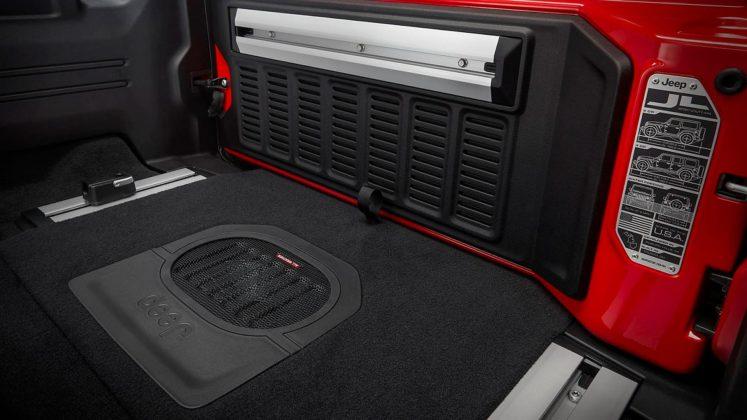 Jeep Wrangler Rubicon 2018 interni
