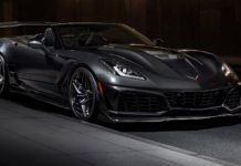 Chevrolet Corvette ZR1 Convertible 2018 statica