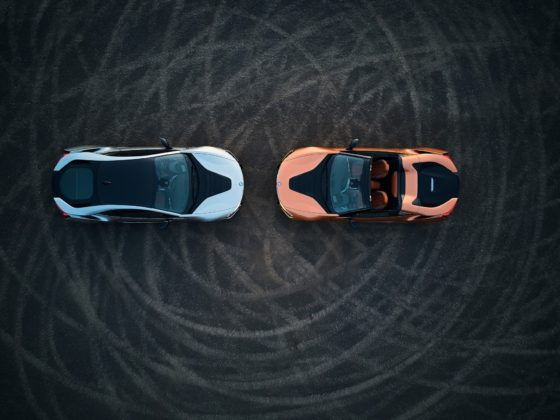 BMW i8 2018 statica