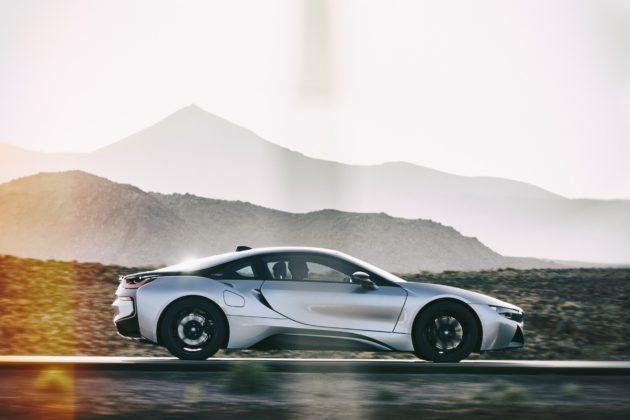 BMW i8 Coupé 2018 dinamica