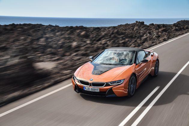 BMW i8 Roadster 2018 dinamica