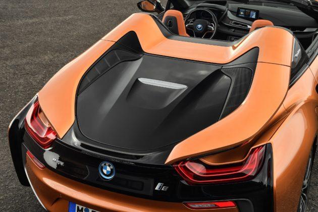 BMW i8 Roadster 2018 dettaglio