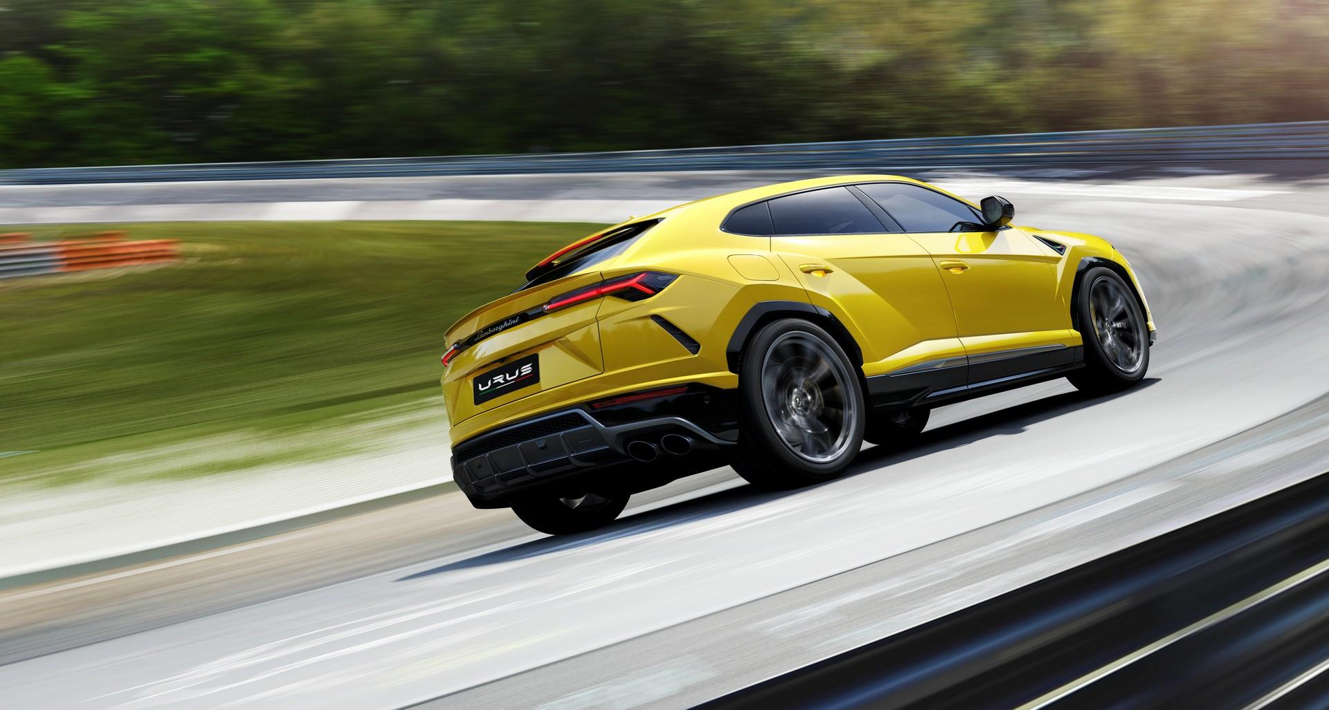 Lamborghini Urus dinamica