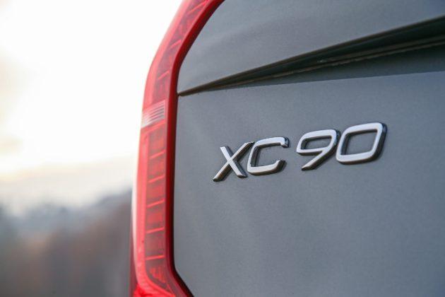 Volvo XC90 D5 Grigia Particolare faro posteriore