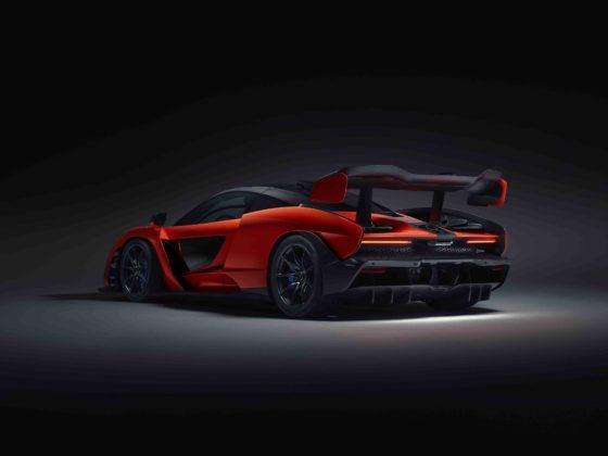 McLaren Senna statica