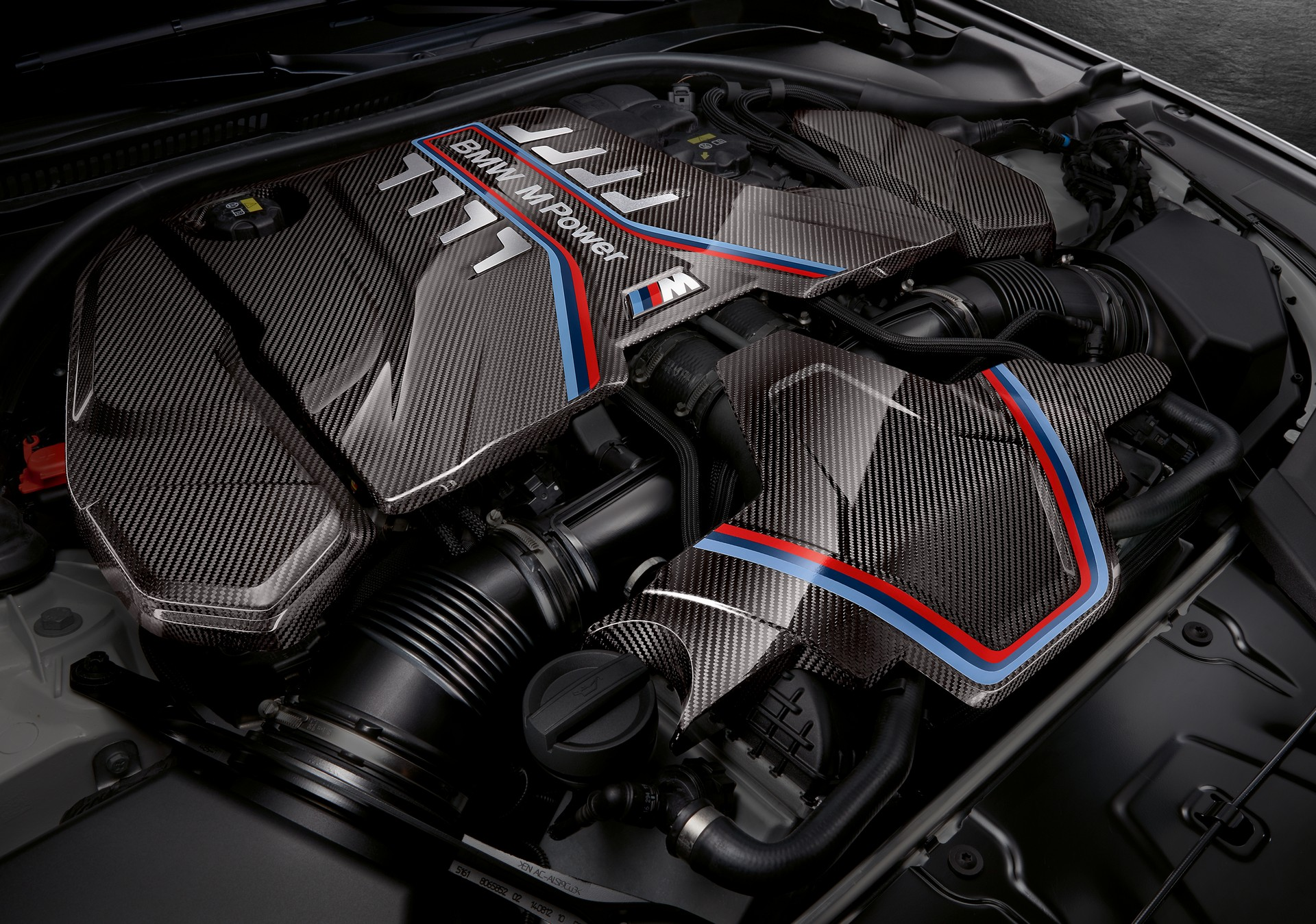 BMW M5 M Performance motore