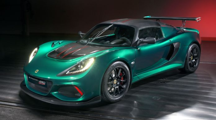 Lotus Exige Cup 430 statica