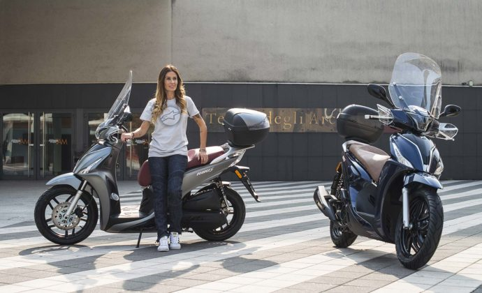 Kymco People S 125 e 150 - assieme