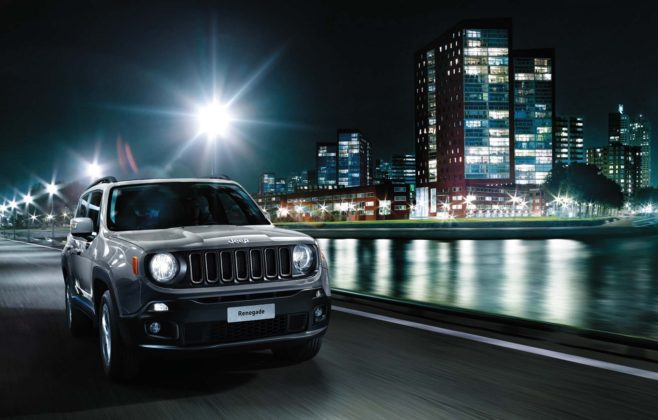 Jeep Renegade model year 2018 - frontale