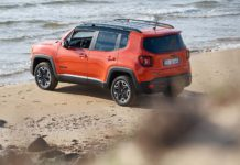 Jeep Renegade model year 2018 - 3/4 posteriore