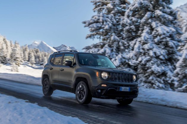 Jeep Renegade model year 2018 - neve