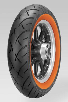 Metzeler ME 888 Marathon Ultra Orangewall - posteriore