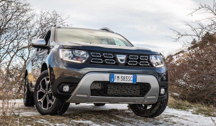 Dacia Duster 2018 Statica 3/4 anteriore