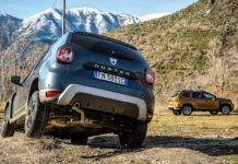 Dacia Duster 2018 twist in fuoristrada