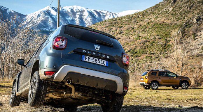 Dacia Duster 2018 twist in fuoristrada