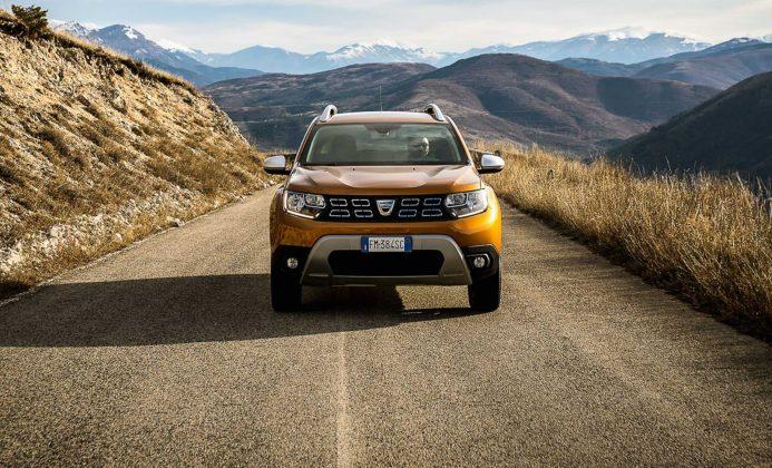 Dacia Duster 2018 Movimento montagna frontale