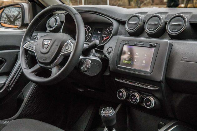 Dacia Duster 2018 Particolare interni