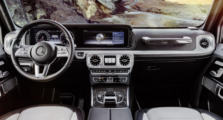 Mercedes Classe G interni
