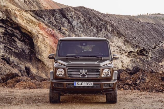 Mercedes Classe G Marrone Statica Fuoristrda