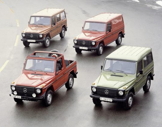 Mercedes Classe G Modelli Colorati