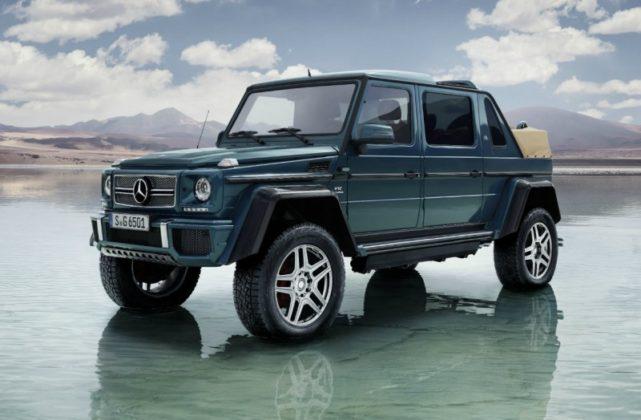 Mercedes Classe G Landaulet cielo deserto
