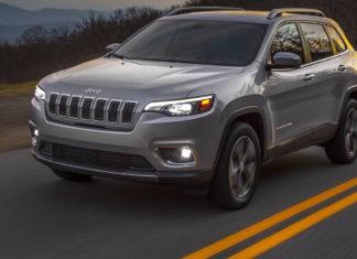 Jeep cherokee 2018 grigia strada