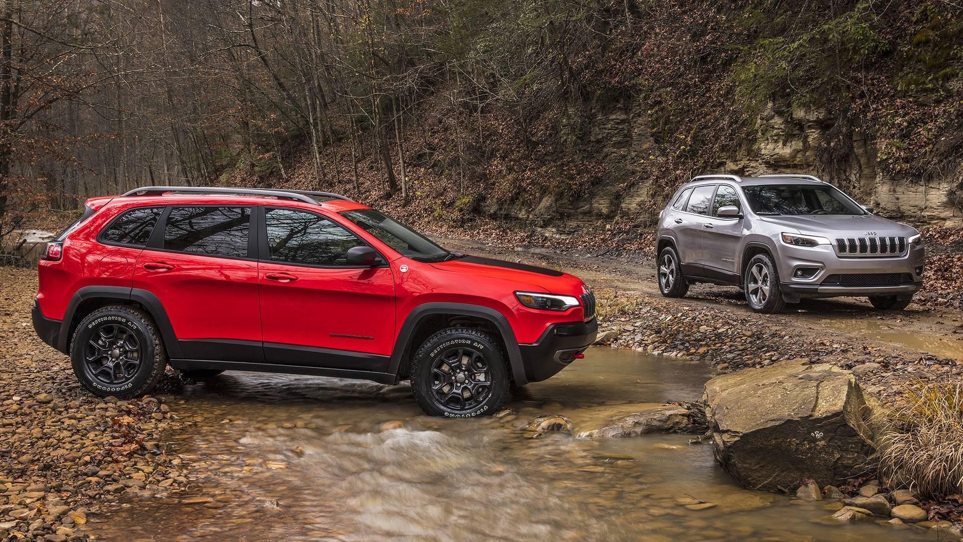 Jeep Cherokee 2018 Trailhawk e normale