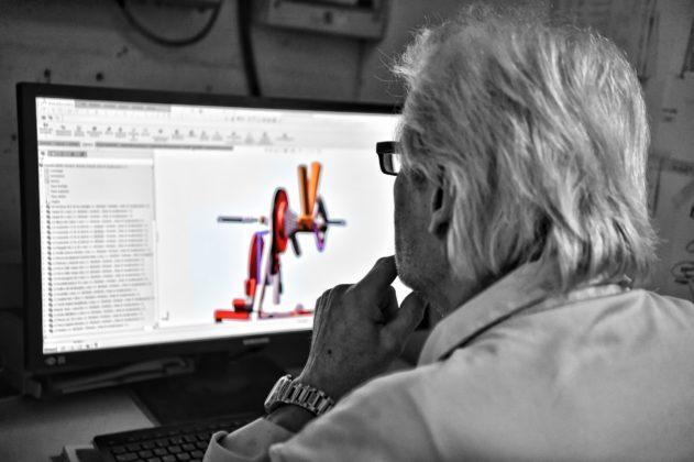 magnetic days jarvis, il prodotto progettato al CAD