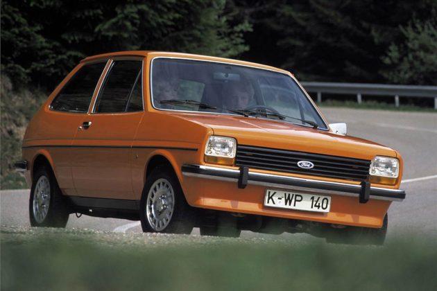 Ford Fiesta MKI arancione