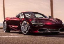 McLaren 720s MSO rossa statica