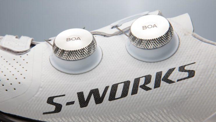 scarpe da bici specialized s-works 7, particolare chiusura Boa