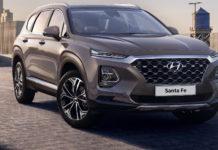 Hyundai Santa Fe 3/4 laterale anteriore destra statica